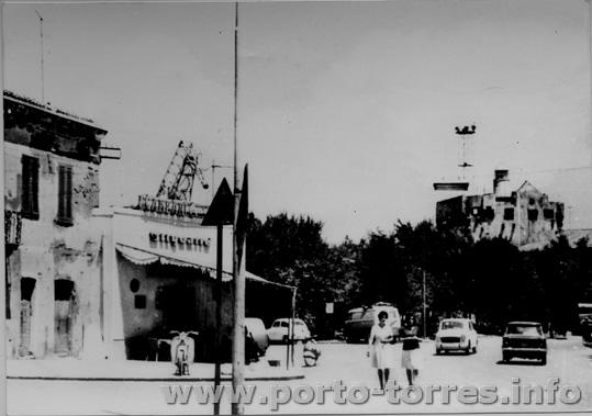 annni '60 la Torre vista da quello che diverrà il Bar Ristorante Cristallo