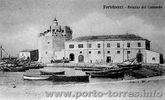 darsena e Torre dopo l'inserimento del Faro