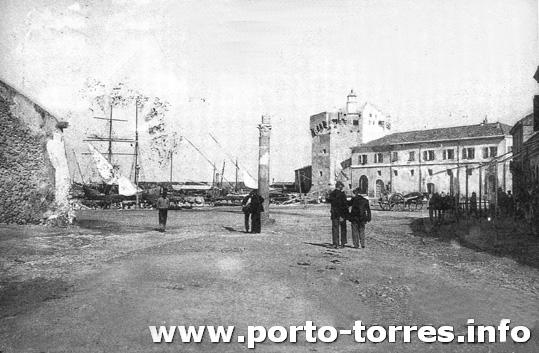 torre e darsena ai primi del '900